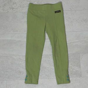 Matilda Jane Leggings Sz 2 Girls Green MJ